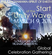 Global Celebration Gathering START of the UNITY WAVE