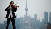 Roof Top Violinist
