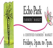 Echo Park Farmers Market every Friday