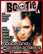 BOOTIE LA - 10/16 at SPACELAND with The Cool Table, DJ Paul V., R.A.I.D.