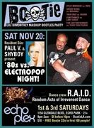 BOOTIE LA - 80's vs. Electropop Night w/DJ's Paul V. & Shyboy + R.A.I.D. Dance Crew