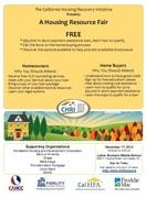 Montebello Housing Resource Fair November 17th