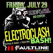 DJ Paul V. ★ Electroclash Bash ★ 7/29 at The Faultline!