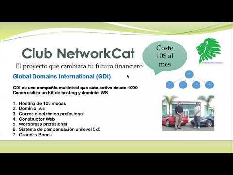 Nueva Presentación del proyecto NetworkCAT