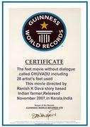 Guinness World Records KERALA GWR - 214619 Clim ID FEET MOVIE