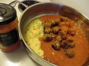 fallafel n jar curry sauce