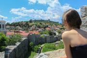 Gazing at the beauty of Ohrid city