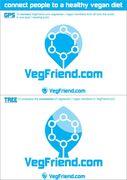 VegFriend Logo & Shirt