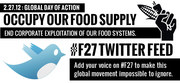 Occupy our Food Supply - 2/27