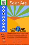 OwnFoods Solar Ara Short Course at Rhiba Farms Nov 14-17