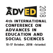 ADVED 2018- 4th INTERNATIONAL CONFERENCE ON ADVANCES IN EDUCATION AND SOCIAL SCIENCES