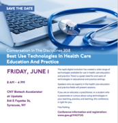 2018 CID: Best use technologies in healthcare education and practice