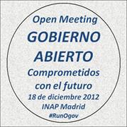 """Open Meeting: Gobierno Abierto - """"Comprometidos con el futuro"""""""