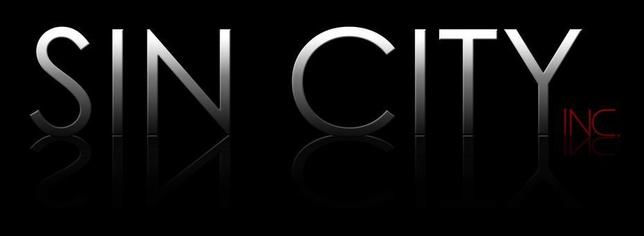 Sin City Inc Wording Black background