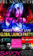 DJ DIESEL SAVOY VA GLOBAL LAUNCH PARTY