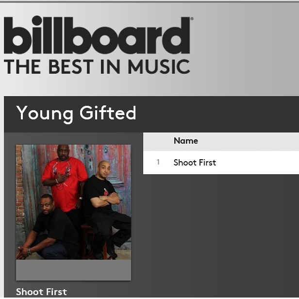 """Billboard Music Featuring Young Gifted Mega Hit Single """"Shoot First"""""""