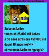 .Salve os Leões.