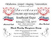 Sweetheart Banquet and Concert