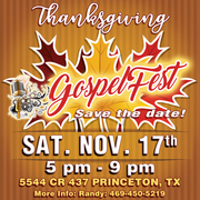 Thanksgiving GospelFest