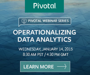 Operationalizing Data Analytics with Pivotal and Forrester