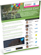14th Text Analytics Summit East