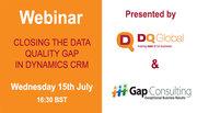 Closing the data quality gap in dynamics CRM