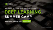 Deep Learning Summer Camp, London