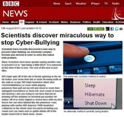 Scientist Discover Way To Stop Cyber-Bullying