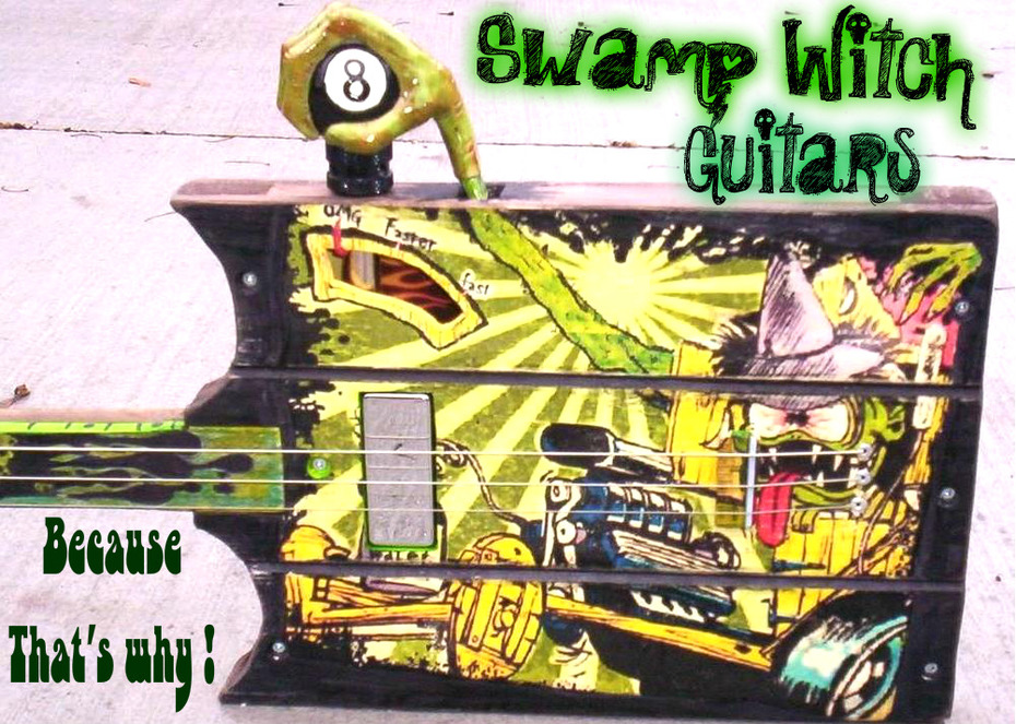 SWAMP WITCH .. BECAUSE