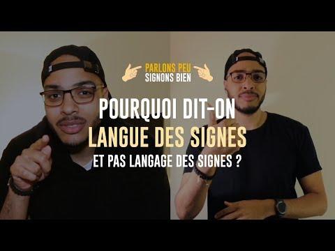 Pourquoi dit-on Langue des Signes et pas Langage des Signes ? - #PPSB - Episode 1