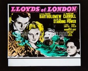 LLOYDS OF LONDON ('36) Freddie Bartholomew, Tyrone Power, Madeleine Carroll (Director: Henry King)