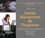 Soirée gratuite découverte de l'hypnose