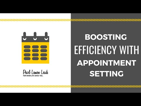 Why Appointment Setting Is So Important - Pearl Lemon Leads, Lead Generation Agency