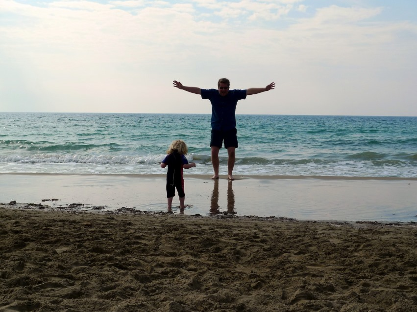 Father and child, Image via Flickr Creative Commons, dickdotcom