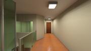 Sala de Espera Superior vista para consultórios