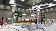 co- operate reception area -Designed by Mike Makki