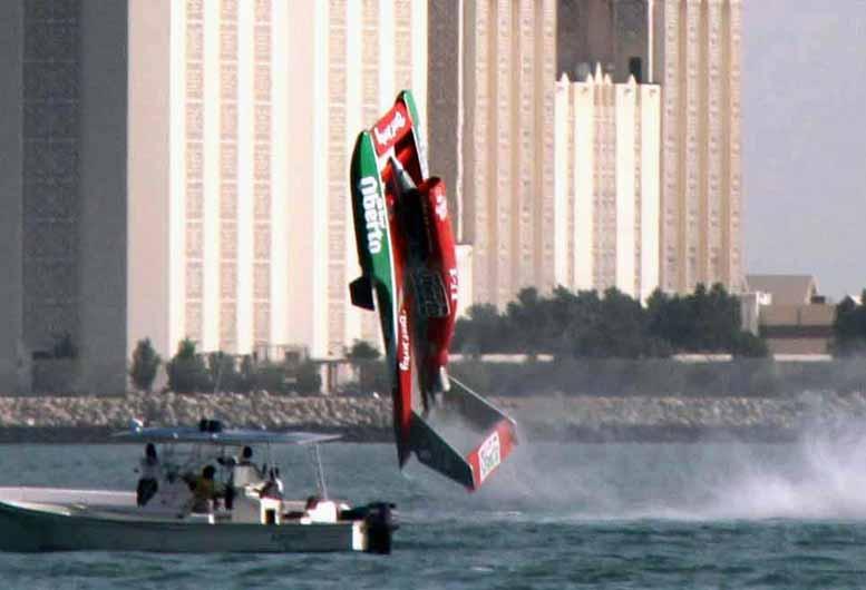 2009 Doha Oh Boy! Oberto flip a