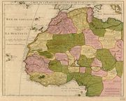 Pre-colonial West Africa Map