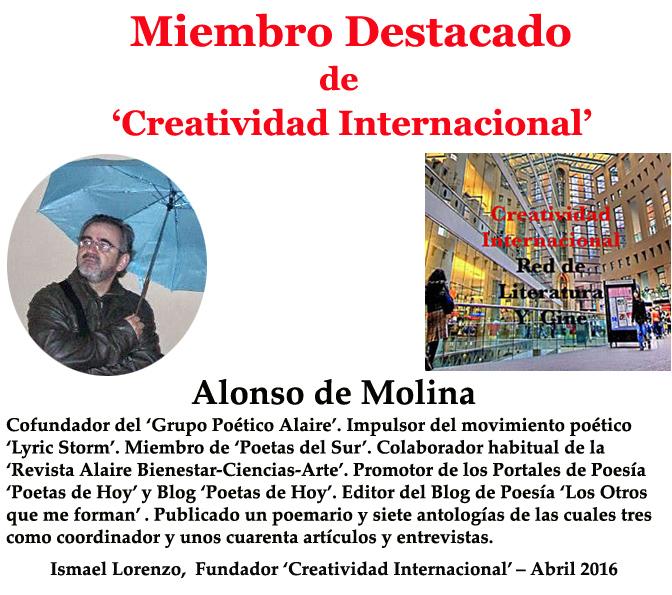 Alonso de Molina 'Miembro Destacado'