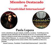 Miembro destacado Paola Lopera