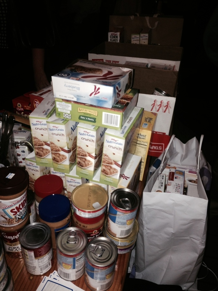 Winter Social Food Drive Collection