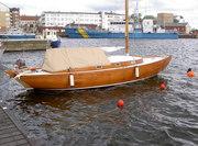 Konverterad folkbåt