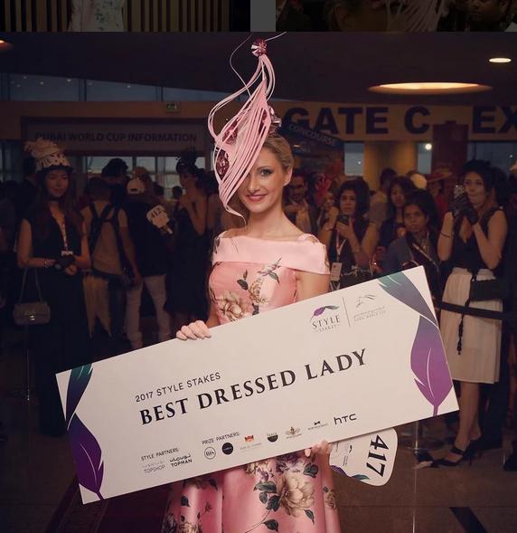"Milliner wins Dubai World Cup ""Best Dressed Lady"""