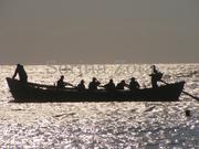 Pescari in zori -