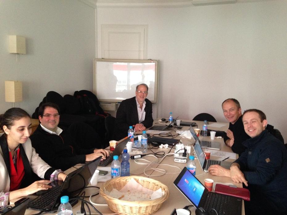 JUNIPER Meeting in Softeam Cadextan in Paris 5th November 2015