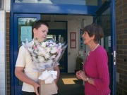 Flowers for June Brown off James, Tom Mcgreevy's Son