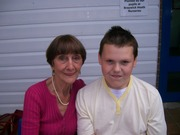 June Brown (Dot), and Tom Mcgreevy's Son James