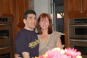 Chris and my new wife Jane