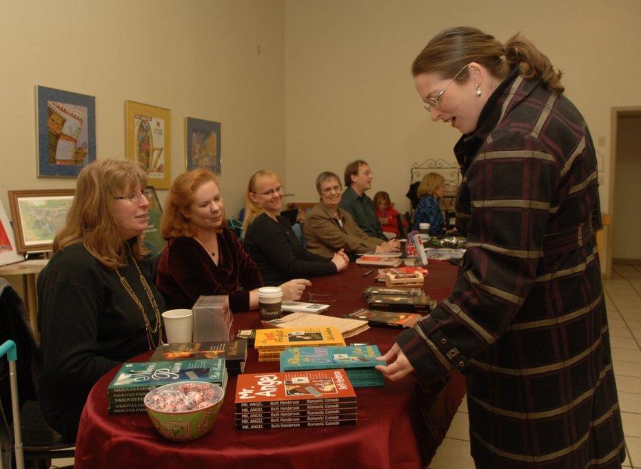 Books signing 2008, Troy Ohio two