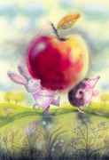 Story- The apple